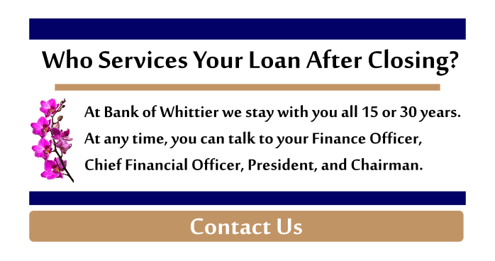 Who services your loan after closing?